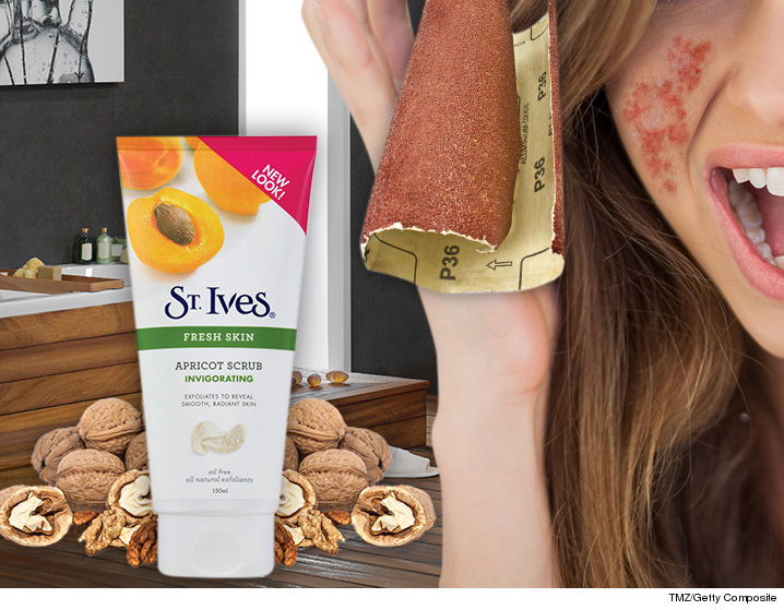 St Ives Apricot Face Scrub