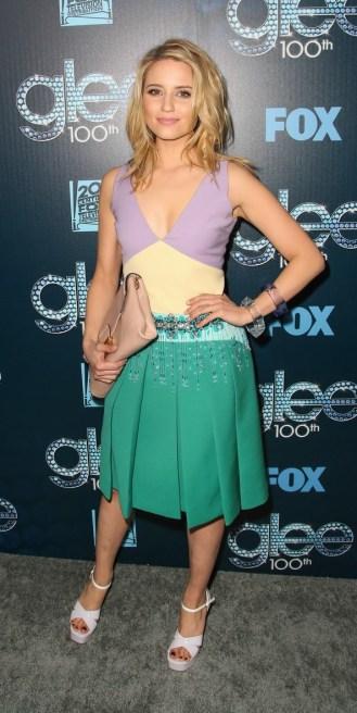 Dianna Agronz Celebrate Glee's 100th Episode!