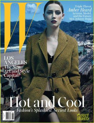 W magazine's JuneJuly 2014