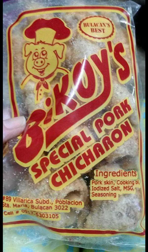 Bikoy's Special Pork Chicharon: Bulacan's Best