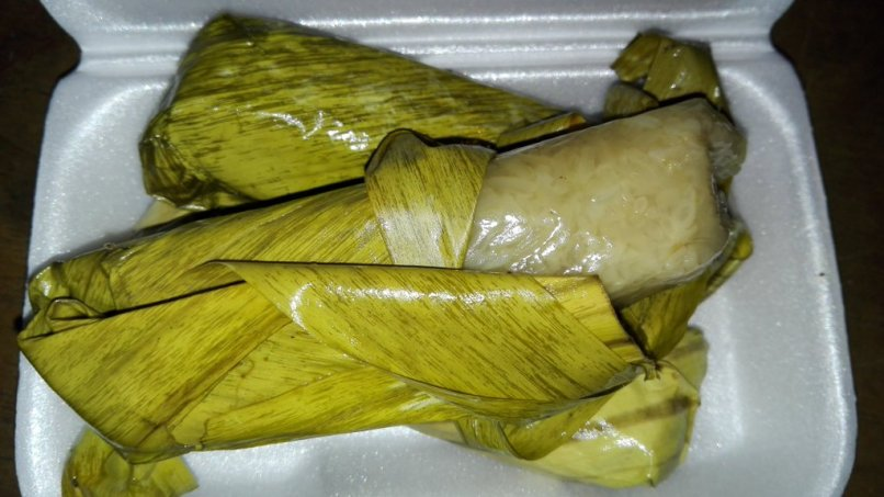 Suman Malagkit, Partly Unwrapped