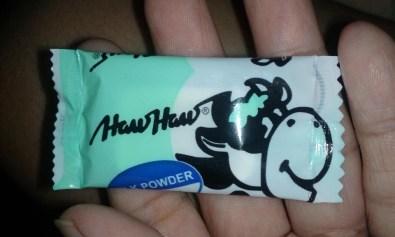 Haw Haw milk candy.