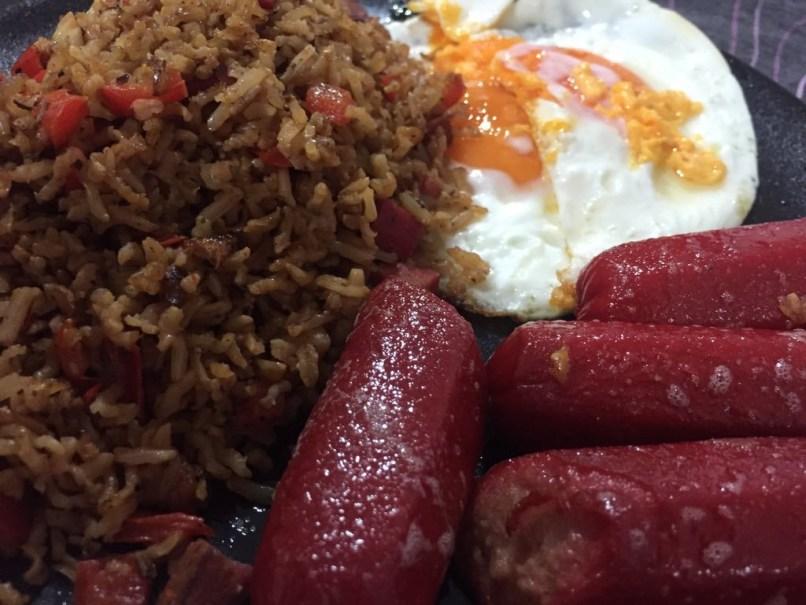 Hotsilog: Filipino Meal
