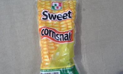 Pack of Sweet Cornsnak from the Philippines