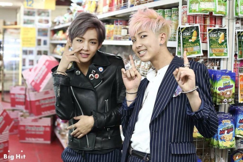 Bangtan Boys at Filipino Grocery Store