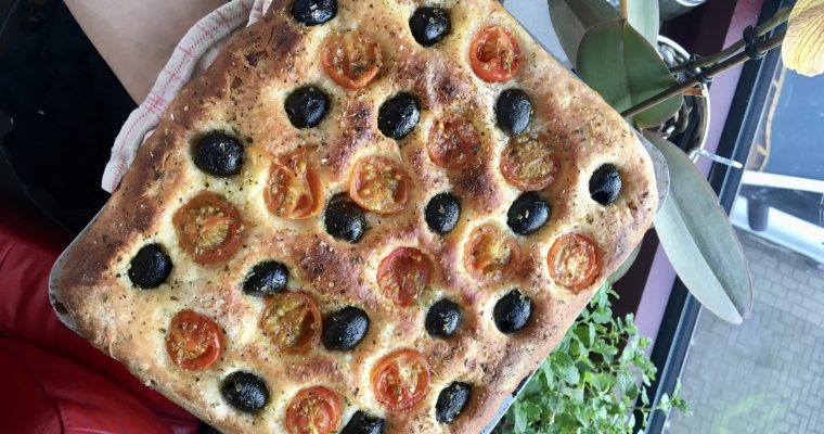 The real Italian focaccia