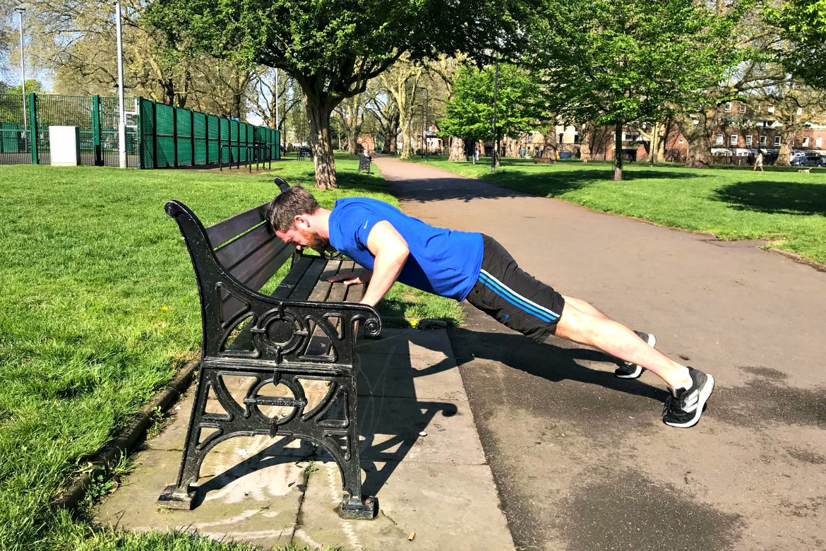British and National Wrestling Champion KEITH MCNIVEN, founder of Right Path Fitness shares 6 Exercises you can do in your local park.