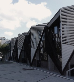 triangular building