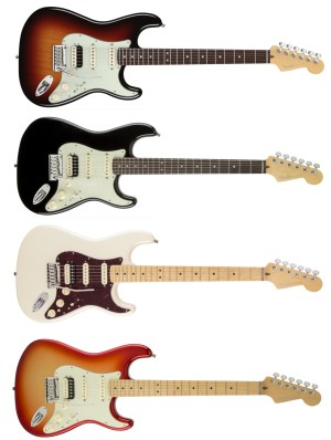 American Deluxe Stratocaster® HSS Shawbucker | About Guitars