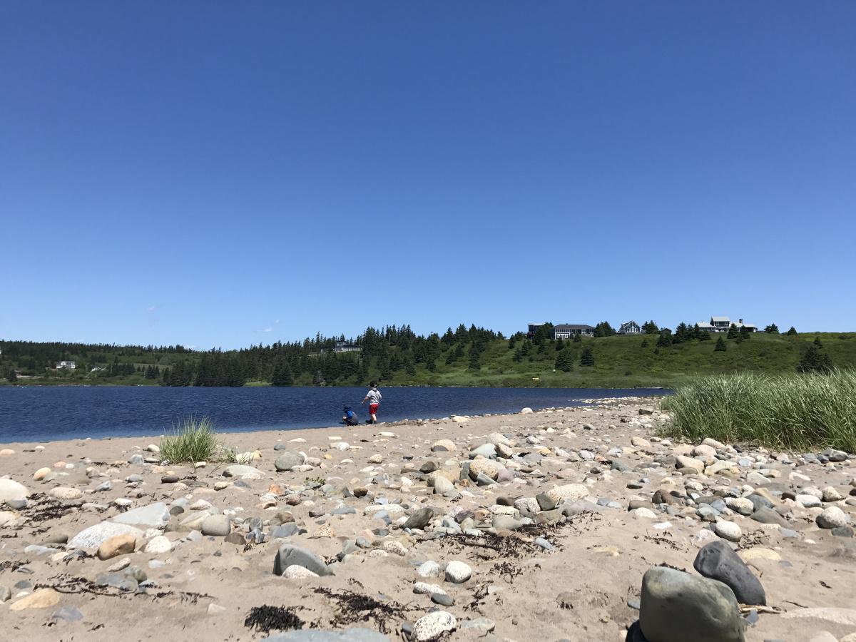 Hirtle's Beach in Nova Scotia