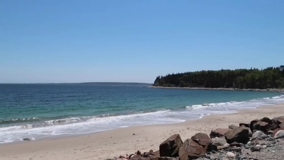 A quiet day at the beach in St. Margaret's Bay