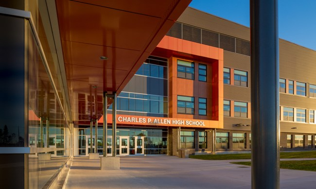 Charles P. Allen High School in Bedford, Nova Scotia
