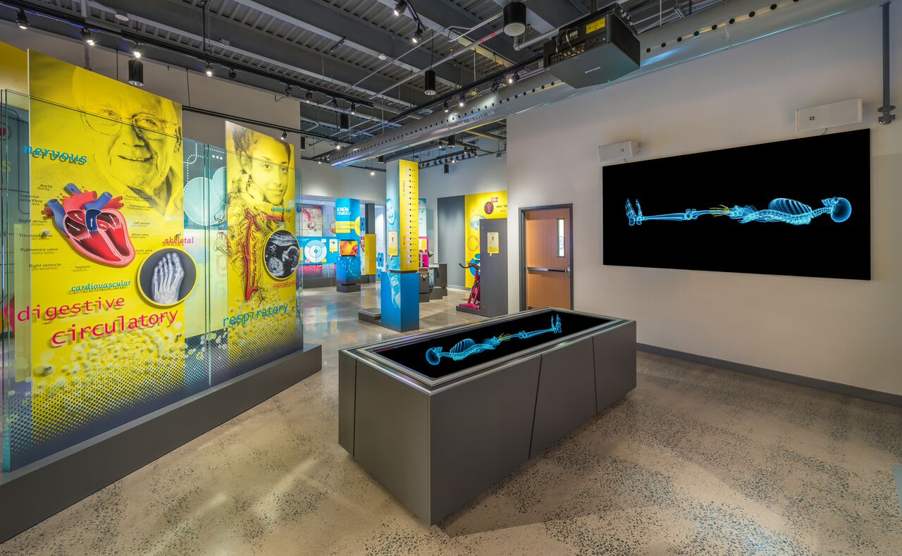 An Halifax Discovery Centreexhibit of the new Discovery Centre