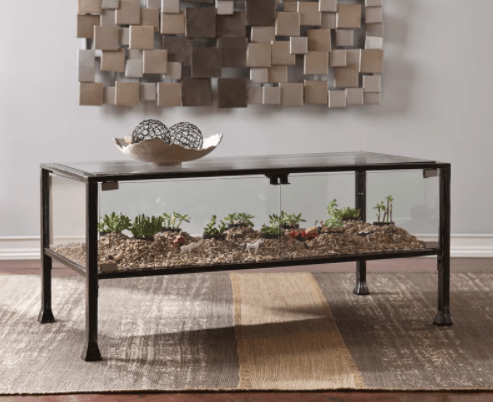 A Terrarium Coffee Table