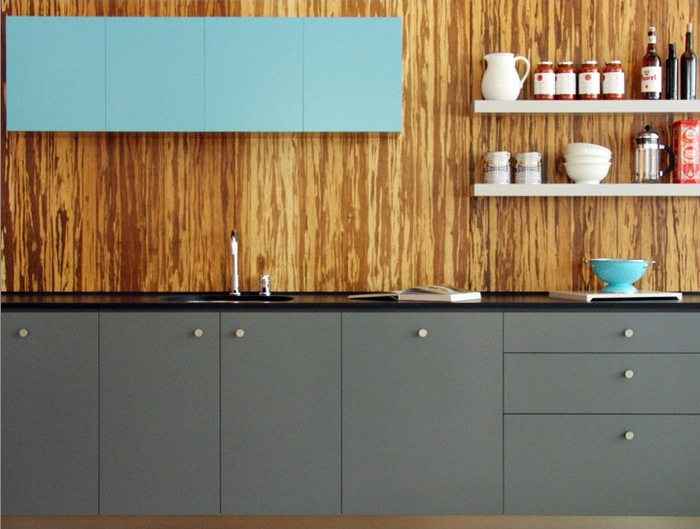 Bamboo Backsplash
