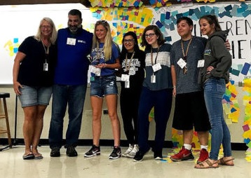HCCF Youth Receives Statewide Award