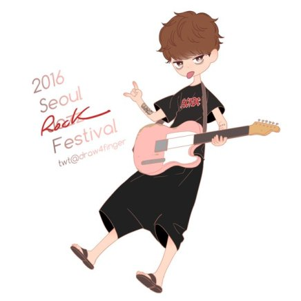 Fanart of Jung Joon Young at Seoul Jazz Festival 2016