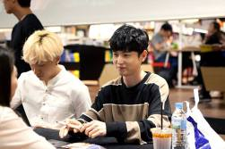 jung joon young and drug restaurant @ fan sign event 20160619 3