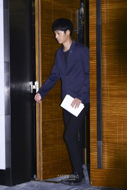 Jung Joon Young at his press conference on sexual scandal Sept 2016