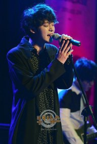 Jung Joon Young performing at Sympathy showcase on Feb 24, 2016