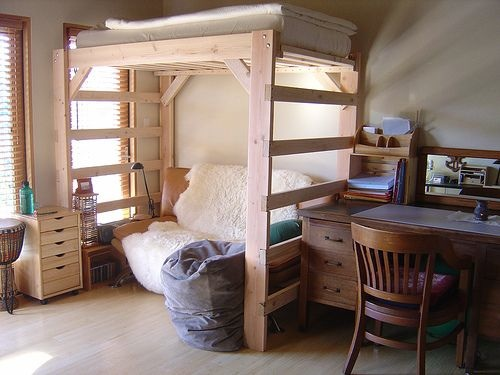 Build Full Size Loft Bed Plans With Desk Diy Pdf