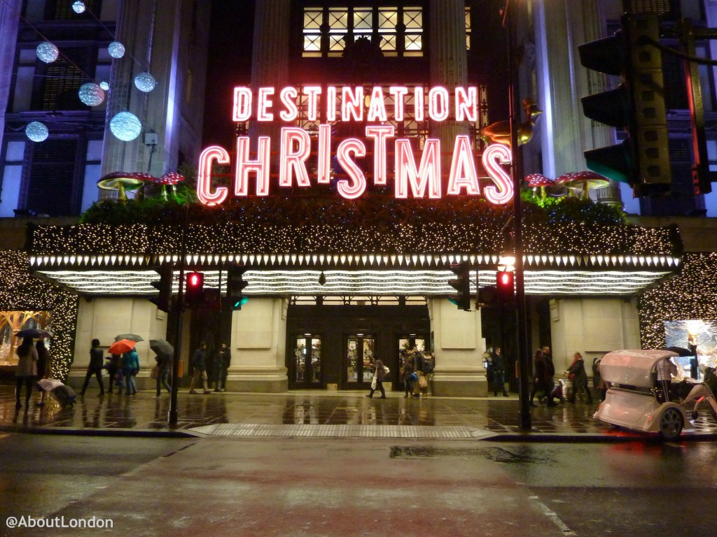Christmas Lights Dates London 2015