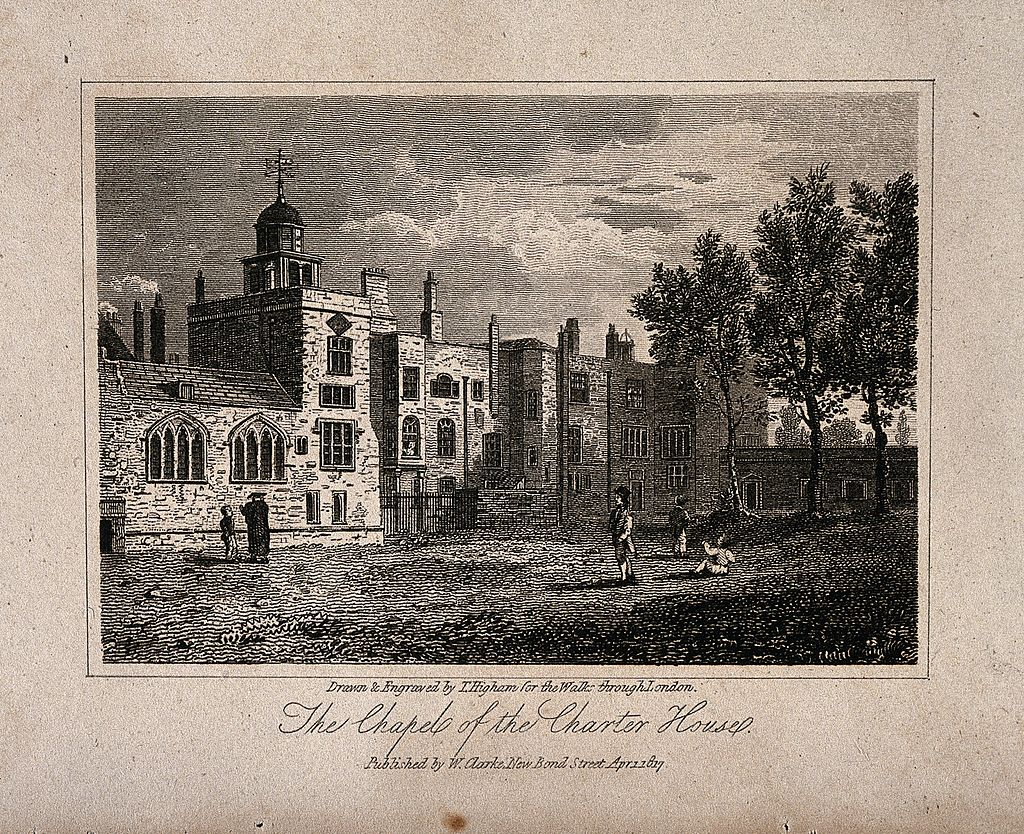 The Charterhouse, London; the Chapel