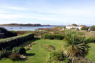 View from Room 14 at Hell Bay, Bryher, Isles of Scilly