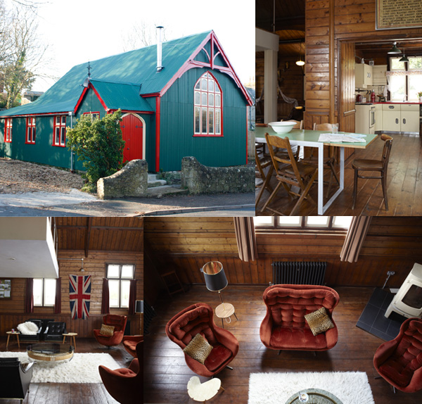 Mission Hall - Quirky Places to Stay