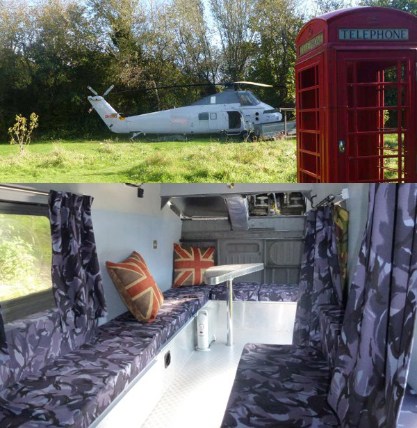 holicopter - Quirky Places to Stay
