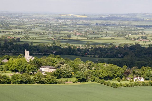 View from Coombe Hill