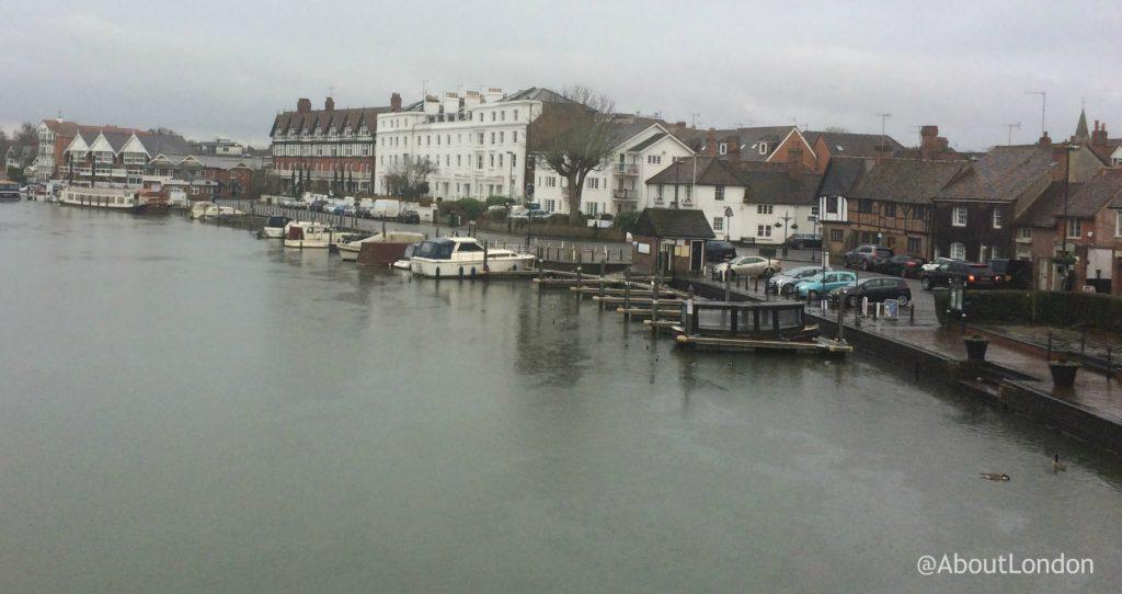 View from Henley Bridge