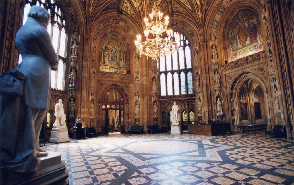 Central Lobby, Houses of Parliament