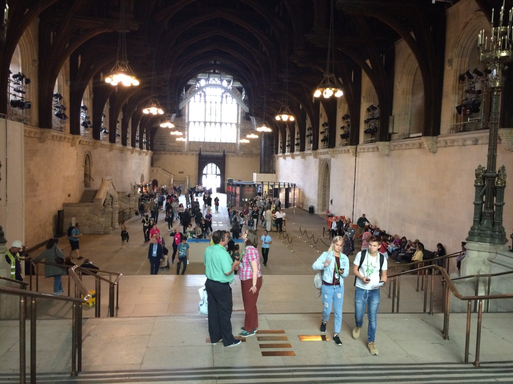 Westminster Hall, Houses of Parliament