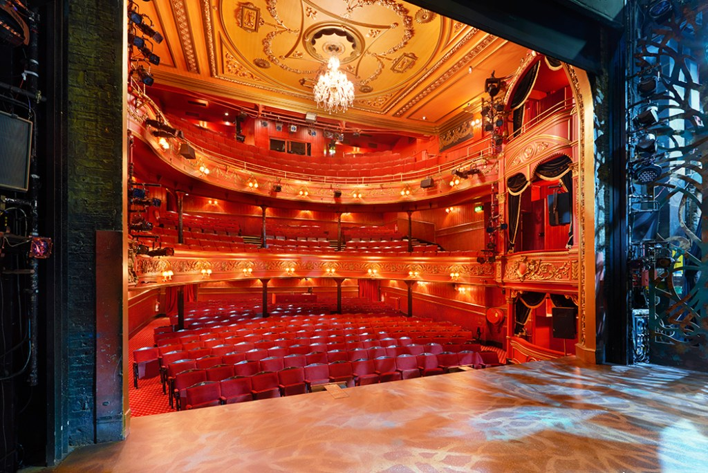 Auditorium view from the stage_Theatre Royal Stratford East. Copyright: PeterDazeley