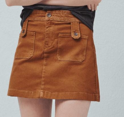 MangoOutlet Jupe coton