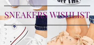 Sneakers wishlist
