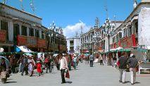 Barkhar Street, Lhasa
