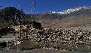 Ethnic house at Dolpo