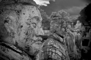 Терракотовая армия императора Цинь Шихуанди (https://www.flickr.com/photos/smilepak/)