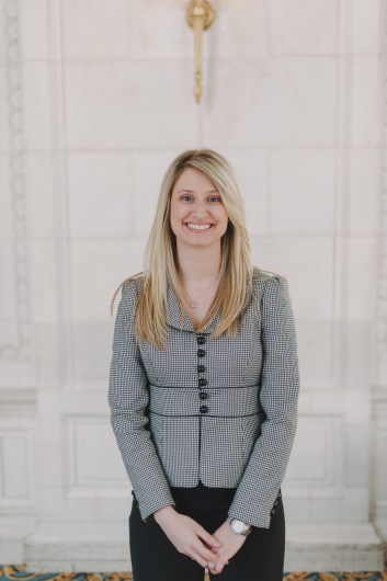 Amanda, our new Director of Conferences (hired @ the Hermitage)