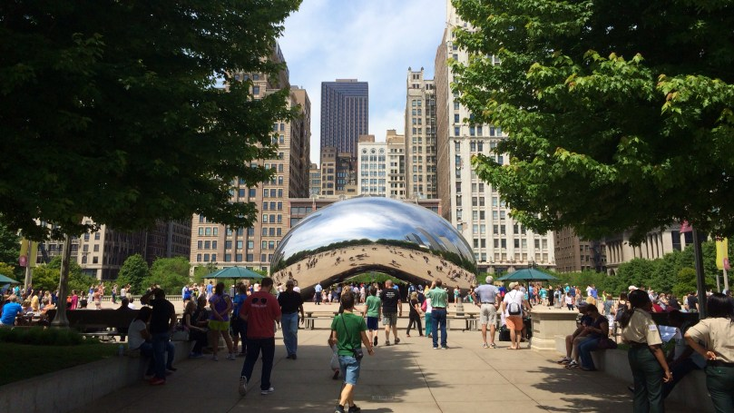 The Bean (aka Cloud Gate)