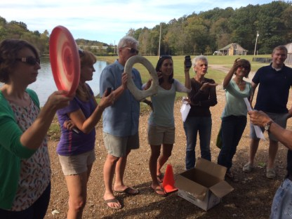 The team's 4 year celebration? Don't ask (Leiper's Fork, TN)