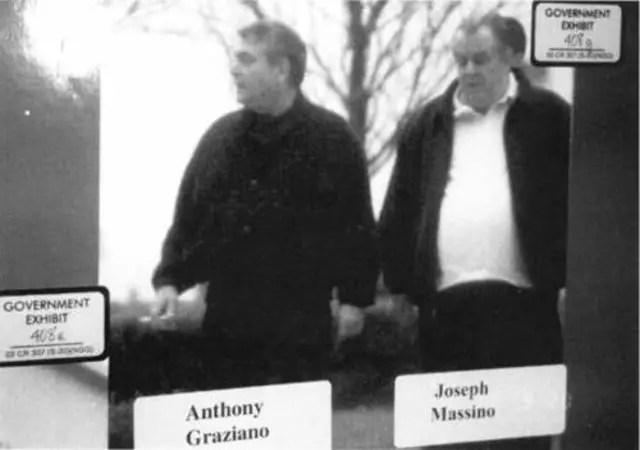 Anthony Graziano and Joseph Massino
