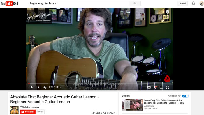 Why YouTube is the Worst Place For Beginners to Learn Guitar