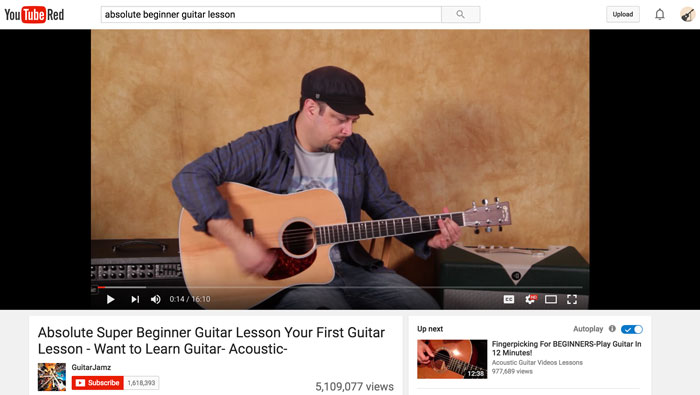 Why Youtube Is The Worst Place For Beginners To Learn Guitar About
