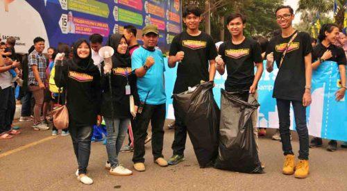 Foto bersama dengan Kepala Bidang Pemuda Kota Tangerang