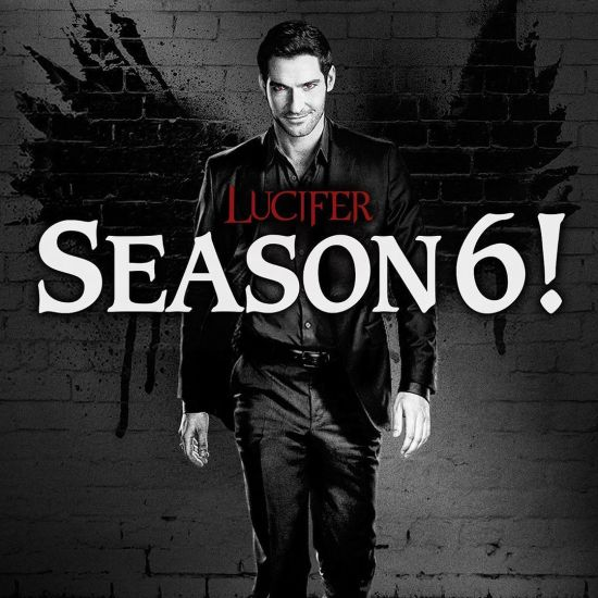 chrisrafferty Tom Ellis Lucifer Season 6
