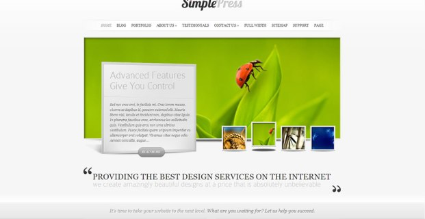 SimplePress Theme