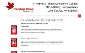 CanadaPardonsforusTravel.com Legal Services Website Project